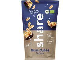 share Bio Nuss Cubes Schoko