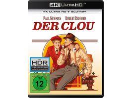 Der Clou 4K Ultra HD Blu ray 2D