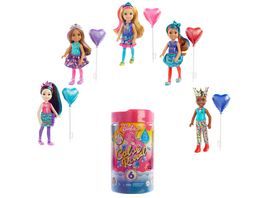 Barbie Color Reveal Chelsea Puppe Party Serie  Anziehpuppe Modepuppe