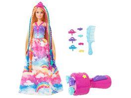 Barbie Dreamtopia Prinzessin Puppe inkl Haare zum Flechten Anziehpuppe