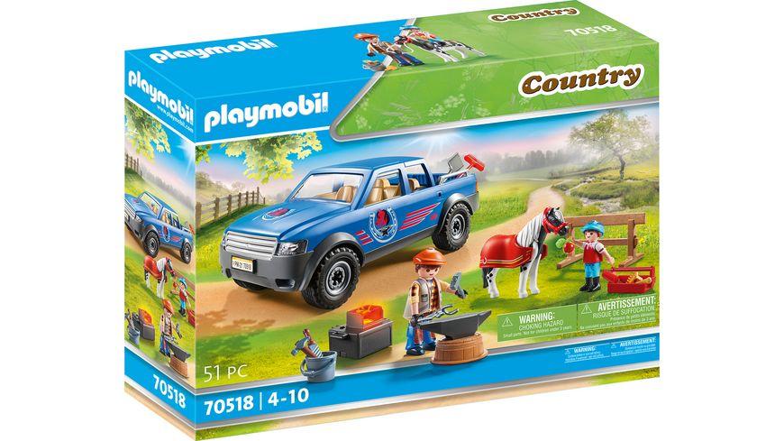 PLAYMOBIL 70518 - Country - Mobiler Hufschmied