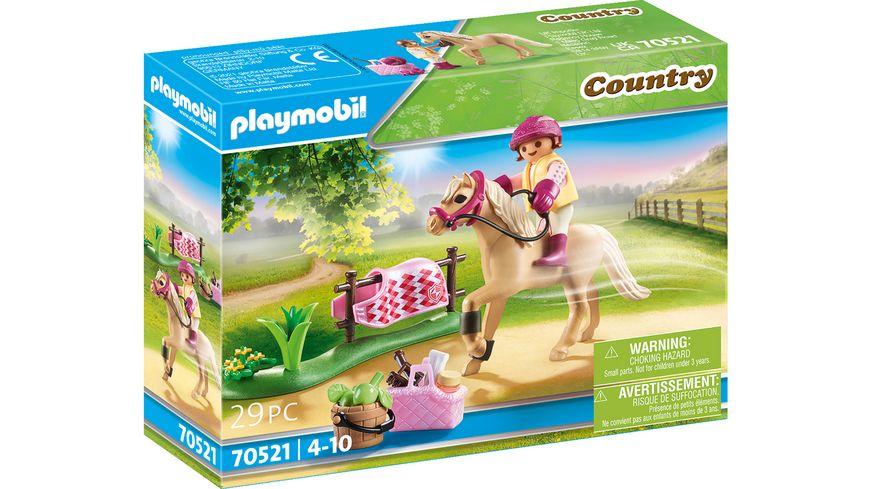 "PLAYMOBIL 70521 - Country - Sammelpony ""Deutsches Reitpony"""