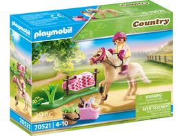PLAYMOBIL 70521 Country Sammelpony Deutsches Reitpony