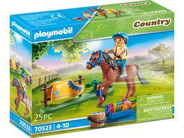 PLAYMOBIL 70523 Country Sammelpony Welsh