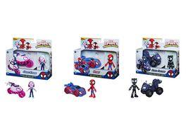 Hasbro Marvel Spidey and His Amazing Friends Action Figur und Fahrzeug sortiert