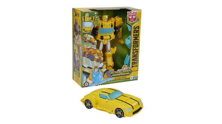 Hasbro - Transformers Bumblebee Cyberverse Adventures Dinobots Unite Roll N' Change Bumblebee