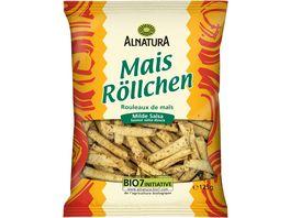 Alnatura Mais Roellchen milde Salsa 125G