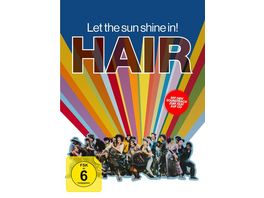 Hair 3 Disc Limited Collector s Edition im Mediabook DVD Soundtrack CD