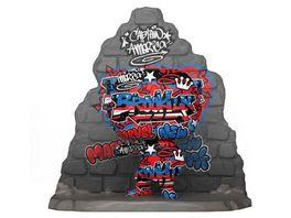 Funko POP Captain America Graffiti Deco Pop Deluxe