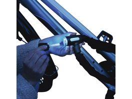 Hama Fahrrad Kettenschloss mit Leuchtschluessel 120 cm Schwarz