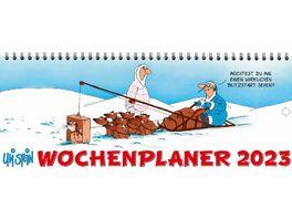 Wochenplaner Uli Stein 2022