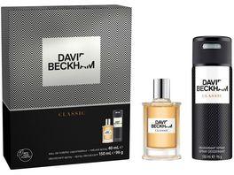 DAVID BECKHAM Classic Eau de Toilette Deo Geschenkset