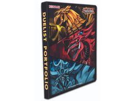 Yu Gi Oh Sammelkartenspiel Slifer Obelisk Ra 9 Pocket Duelist Portfolio