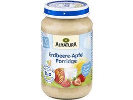 Alnatura Erdbeere Apfel Porridge Baby 190G