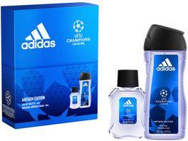 adidas UEFA 7 Eau de Toilette Body Shower Gel Geschenkset