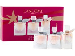LANCOME La vie est belle Eau de Parfum Miniaturen Xmas Set