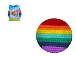 Plop up Fidget Mega Regenbogen 30 cm