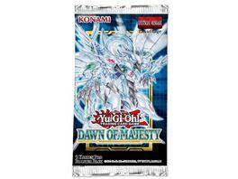 Yu Gi Oh Sammelkartenspiel Dawn of Majesty Booster 9 Karten