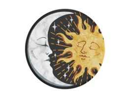 POPSOCKETS POPGRIP SUN AND MOON