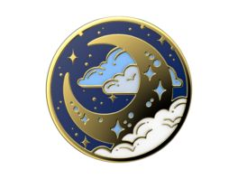 POPSOCKETS POPGRIP ENML FLY ME TO MOON
