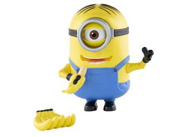Minion Deluxe Action Figur Banana Munching Stuart