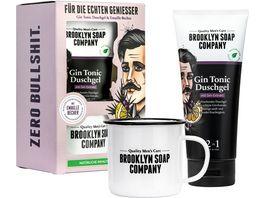 BROOKLYN SOAP COMPANY Gin Tonic Becher Set
