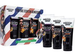 BROOKLYN SOAP COMPANY Duschgel Tasting Set