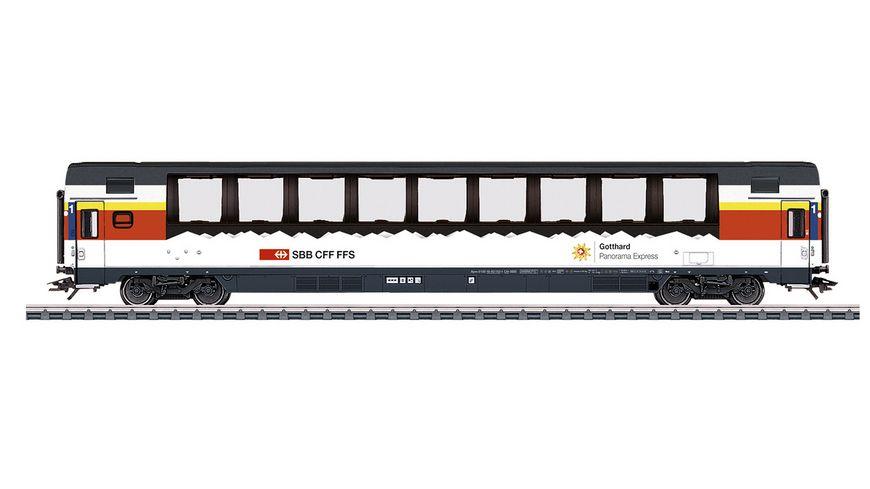 """Märklin 43652 - Personenwagen Apm """"Gotthard Panorama Express"""""""