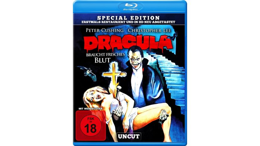 Dracula braucht frisches Blut - uncut S.E. (in HD neu abgetastet)