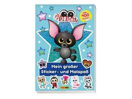 Glubschis Mein grosser Sticker und Malspass ueber 400 Sticker