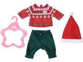 Zapf Creation BABY born Weihnachtsoutfit 43 cm
