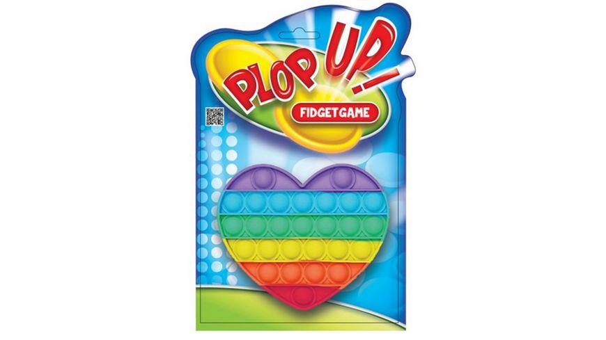 Plop up Fidget Game Herz 15 cm