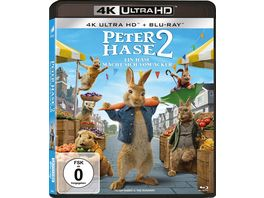 Peter Hase 2 Ein Hase macht sich vom Acker 4K Ultra HD Blu ray 2D