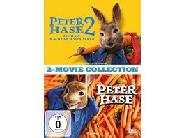 Peter Hase 1 2 2 Disc Set 2 DVDs
