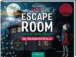 Escape Room Die Weihnachtsfalle Ein Gamebuch Adventskalender fuer Kinder