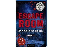 Escape Room Eiskaltes Spiel Ein Escape Krimi Spiel