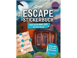 Escape Stickerbuch Das Geheimnis der alten Villar