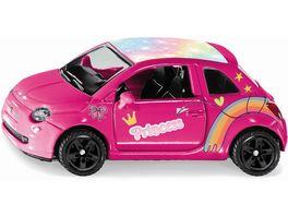 SIKU 6503 Super Style my Fiat 500 Prinzessin