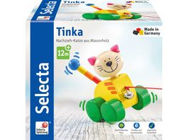 Selecta Tinka Nachzieh Katze 12 cm