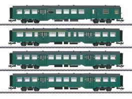 Maerklin 43546 Personenwagen Set M2 z Serie 1 SNCB Ep III