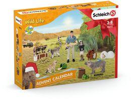 Schleich 98272 Wild Life Adventskalender 2021