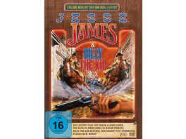 Jesse James Billy the Kid Box 2 DVDs