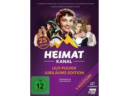 Lilo Pulver Jubilaeums Edition 25 Jahre Heimatkanal 5 DVDs