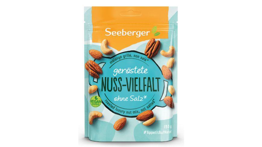 Seeberger geröstete Nuss-Vielfalt