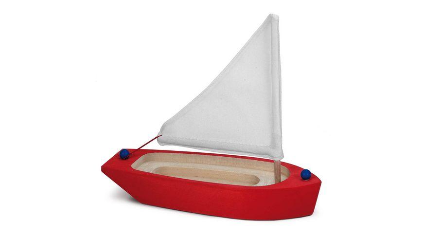Glückskäfer Boote - Segelschiff rot