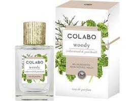 COLABO WOODY cedarwood patchouli Eau de Parfum