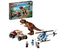 LEGO Jurassic World 76941 Verfolgung des Carnotaurus Kinderspielzeug
