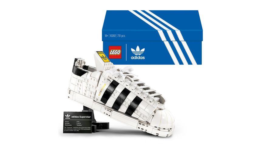 LEGO 10282 adidas Originals Superstar Set für Erwachsene
