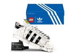 LEGO 10282 adidas Originals Superstar Set fuer Erwachsene