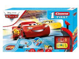 Carrera First Disney Pixar Cars Race of Friends